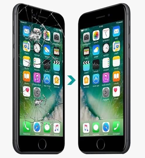 Scherm gebroken iphone amersfoort